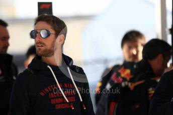 World © Octane Photographic Ltd. Formula 1 – United States GP - Paddock. Haas F1 Team VF19 – Romain Grosjean. Circuit of the Americas (COTA), Austin, Texas, USA. Thursday 31st October 2019.