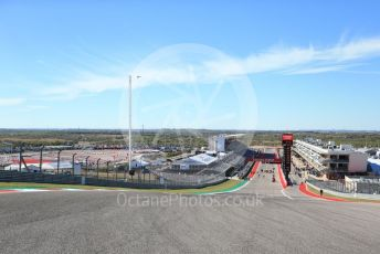 World © Octane Photographic Ltd. Formula 1 – United States GP. View from Turn 1. Circuit of the Americas (COTA), Austin, Texas, USA. Thursday 31st October 2019.