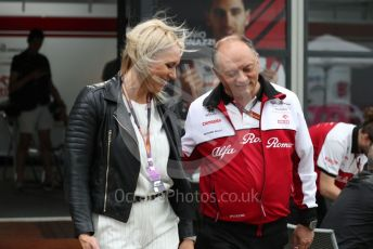 World © Octane Photographic Ltd. Formula 1 – F1 Australian Grand Prix breakdown. Frederic Vasseur – Team Principal and CEO of Alfa Romeo Racing Orlen. Melbourne, Australia. Friday 13th March 2020.