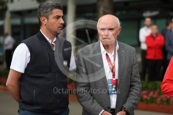 World © Octane Photographic Ltd. Formula 1 - Hungarian GP – Friday FIA Special Press Conference. Melbourne, Australia. Michael Masi – FIA Race Director and Safety Delegate and  Paul Little - Australian Grand Prix Corporation Chairman. Friday 13th March 2020.