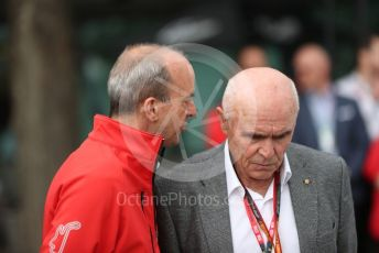 World © Octane Photographic Ltd. Formula 1 - Hungarian GP – Friday FIA Special Press Conference. Melbourne, Australia. Andrew Westacott - Australian Grand Prix Corporation CEO and Paul Little - Australian Grand Prix Corporation Chairman. Friday 13th March 2020.