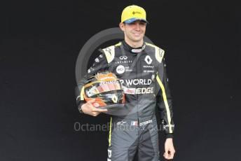 World © Octane Photographic Ltd. Formula 1 – F1 Australian Grand Prix - FIA photocall. Renault DP World F1 Team RS20 – Esetban Ocon. Melbourne, Australia. Thursday 12th March 2020.