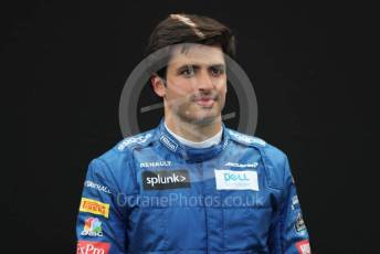 World © Octane Photographic Ltd. Formula 1 – F1 Australian Grand Prix - FIA photocall. McLaren MCL35 – Carlos Sainz. Melbourne, Australia. Thursday 12th March 2020.