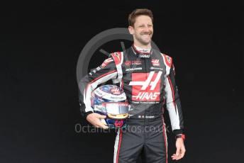 World © Octane Photographic Ltd. Formula 1 – F1 Australian Grand Prix - FIA photocall. Haas F1 Team VF20 – Romain Grosjean. Melbourne, Australia. Thursday 12th March 2020.