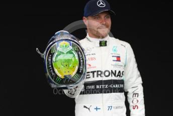 World © Octane Photographic Ltd. Formula 1 – F1 Australian Grand Prix - FIA photocall. Mercedes AMG Petronas F1 W11 EQ Performance - Valtteri Bottas. Melbourne, Australia. Thursday 12th March 2020.