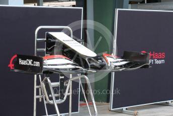 World © Octane Photographic Ltd. Formula 1 – F1 Australian Grand Prix. Haas F1 Team VF20 front wing. Melbourne, Australia. Wednesday 11th March 2020.