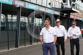 World © Octane Photographic Ltd. Formula 1 – F1 Australian Grand Prix . FIA personnel . Melbourne, Australia. Wednesday 11th March 2020.