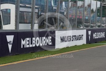 World © Octane Photographic Ltd. Formula 1 – F1 Australian Grand Prix - Setup. Melbourne, Australia. Wednesday 11th March 2020.