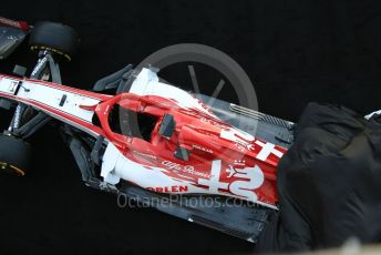 World © Octane Photographic Ltd. Formula 1 – F1 Pre-season Test 1 - Day 1. Alfa Romeo Racing Orlen C39 launch. Circuit de Barcelona-Catalunya, Spain. Wednesday 19th February 2020