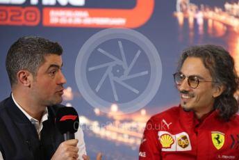 World © Octane Photographic Ltd. Formula 1 – F1 Pre-season Test 1 - Day 3 Press Conference. Michael Masi – FIA Race Director and Safety Delegate. Circuit de Barcelona-Catalunya, Spain. Friday 21st February 2020.