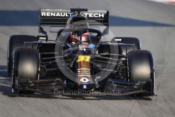 World © Octane Photographic Ltd. Formula 1 – F1 Pre-season Test 1 - Day 3. Renault Sport F1 Team RS20 – Esteban Ocon. Circuit de Barcelona-Catalunya, Spain. Friday 21st February 2020.