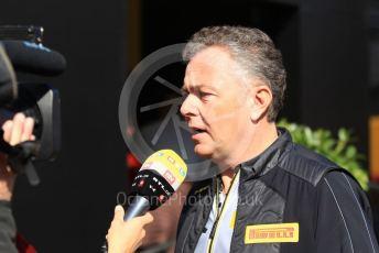 World © Octane Photographic Ltd. Formula 1 – F1 Pre-season Test 1 - Day 3. Mario Isola – Pirelli Head of Car Racing. Circuit de Barcelona-Catalunya, Spain. Friday 21st February 2020.