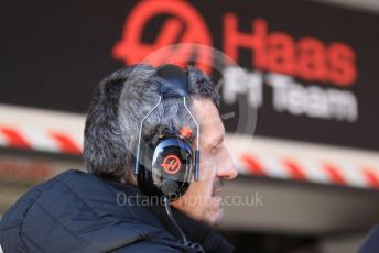 World © Octane Photographic Ltd. Formula 1 – F1 Pre-season Test 1 - Day 3. Guenther Steiner  - Team Principal of Rich Energy Haas F1 Team. Circuit de Barcelona-Catalunya, Spain. Friday 21st February 2020.