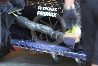 World © Octane Photographic Ltd. Formula 1 – F1 Pre-season Test 1 - Day 3. Mercedes AMG Petronas F1 W11 EQ Performance - Lewis Hamilton. Circuit de Barcelona-Catalunya, Spain. Friday 21st February 2020.