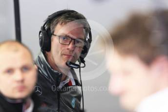 World © Octane Photographic Ltd. Formula 1 – F1 Pre-season Test 1 - Day 3. James Allison - Technical Director of Mercedes - AMG Petronas Motorsport. Circuit de Barcelona-Catalunya, Spain. Friday 21st February 2020.