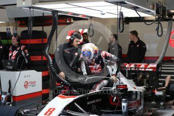 World © Octane Photographic Ltd. Formula 1 – F1 Pre-season Test 1 - Day 3. Haas F1 Team VF20 – Romain Grosjean. Circuit de Barcelona-Catalunya, Spain. Friday 21st February 2020.