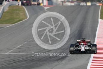 World © Octane Photographic Ltd. Formula 1 – F1 Pre-season Test 1 - Day 3. Alfa Romeo Racing Orlen C39 – Antonio Giovinazzi. Circuit de Barcelona-Catalunya, Spain. Friday 21st February 2020.