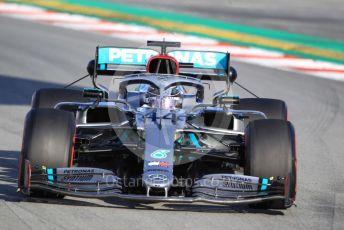 World © Octane Photographic Ltd. Formula 1 – F1 Pre-season Test 2 - Day 1. Mercedes AMG Petronas F1 W11 EQ Performance - Lewis Hamilton. Circuit de Barcelona-Catalunya, Spain. Wednesday 26th February 2020.