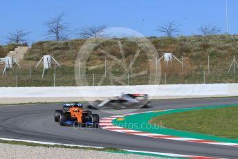 World © Octane Photographic Ltd. Formula 1 – F1 Pre-season Test 2 - Day 1. McLaren MCL35 – Carlos Sainz. Circuit de Barcelona-Catalunya, Spain. Wednesday 26th February 2020.