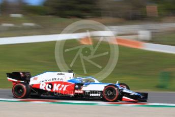 World © Octane Photographic Ltd. Formula 1 – F1 Pre-season Test 2 - Day 1. ROKiT Williams Racing FW43 – Nicholas Latifi. Circuit de Barcelona-Catalunya, Spain. Wednesday 26th February 2020.