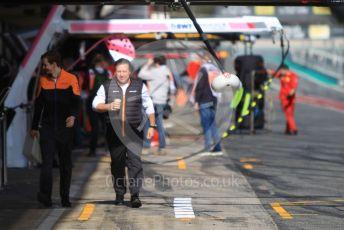 World © Octane Photographic Ltd. Formula 1 – F1 Pre-season Test 2 - Day 2. Zak Brown - Chief Executive of McLaren Racing. Circuit de Barcelona-Catalunya, Spain. Thursday 27th February 2020.