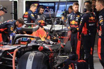 World © Octane Photographic Ltd. Formula 1 – F1 Pre-season Test 2 - Day 2. Aston Martin Red Bull Racing RB16 – Alexander Albon. Circuit de Barcelona-Catalunya, Spain. Thursday 27th February 2020.