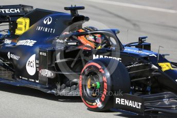 World © Octane Photographic Ltd. Formula 1 – F1 Pre-season Test 2 - Day 2. Renault Sport F1 Team RS20 – Esetban Ocon. Circuit de Barcelona-Catalunya, Spain. Thursday 27th February 2020.