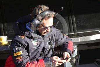World © Octane Photographic Ltd. Formula 1 – F1 Pre-season Test 2 - Day 2. Christian Horner - Team Principal of Red Bull Racing. Circuit de Barcelona-Catalunya, Spain. Thursday 27th February 2020.