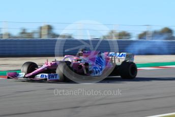 World © Octane Photographic Ltd. Formula 1 – F1 Pre-season Test 2 - Day 3. BWT Racing Point F1 Team RP20 - Sergio Perez. Circuit de Barcelona-Catalunya, Spain. Friday 28th February 2020.