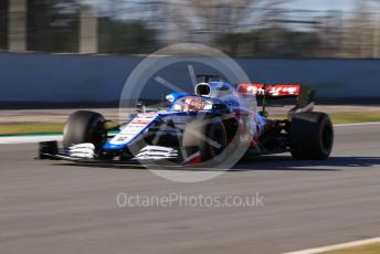World © Octane Photographic Ltd. Formula 1 – F1 Pre-season Test 2 - Day 3. ROKiT Williams Racing FW 43 – George Russell. Circuit de Barcelona-Catalunya, Spain. Friday 28th February 2020.