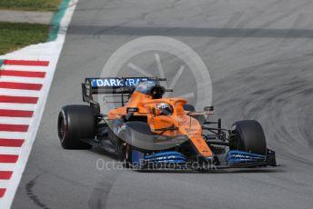 World © Octane Photographic Ltd. Formula 1 – F1 Pre-season Test 2 - Day 3. McLaren MCL35 – Carlos Sainz. Circuit de Barcelona-Catalunya, Spain. Friday 28th February 2020.