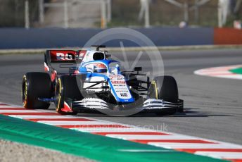 World © Octane Photographic Ltd. Formula 1 – F1 Pre-season Test 1 - Day 2. ROKiT Williams Racing FW 43 – George Russell. Circuit de Barcelona-Catalunya, Spain. Thursday 20th February 2020.