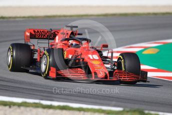 World © Octane Photographic Ltd. Formula 1 – F1 Pre-season Test 1 - Day 2. Scuderia Ferrari SF1000 – Charles Leclerc. Circuit de Barcelona-Catalunya, Spain. Thursday 20th February 2020.