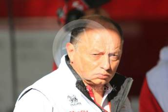 World © Octane Photographic Ltd. Formula 1 – F1 Pre-season Test 1 - Day 2. Frederic Vasseur – Team Principal and CEO of Alfa Romeo Racing Orlen. Circuit de Barcelona-Catalunya, Spain. Thursday 20th February 2020.