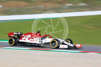 World © Octane Photographic Ltd. Formula 1 – F1 Pre-season Test 1 - Day 2. Alfa Romeo Racing Orlen C39 – Kimi Raikkonen. Circuit de Barcelona-Catalunya, Spain. Thursday 20th February 2020.