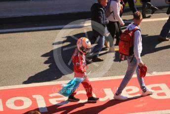 World © Octane Photographic Ltd. Formula 1 – F1 Pre-season Test 1 - Day 2. Fans' pit walk during the lunch break. Circuit de Barcelona-Catalunya, Spain. Thursday 20th February 2020.