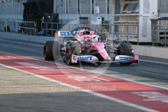 World © Octane Photographic Ltd. Formula 1 – F1 Pre-season Test 1 - Day 2. BWT Racing Point F1 Team RP20 - Sergio Perez. Circuit de Barcelona-Catalunya, Spain. Thursday 20th February 2020.