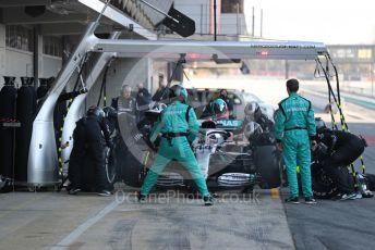 World © Octane Photographic Ltd. Formula 1 – F1 Pre-season Test 1 - Day 2. Mercedes AMG Petronas F1 W11 EQ Performance - Lewis Hamilton. Circuit de Barcelona-Catalunya, Spain. Thursday 20th February 2020.