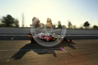 World © Octane Photographic Ltd. Formula 1 – F1 Pre-season Test 1 - Day 2. ROKiT Williams Racing FW 43 – George Russell. Circuit de Barcelona-Catalunya, Spain. Thursday 20th February 2020.