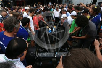 World © Octane Photographic Ltd. Formula 1 - Italian Grand Prix – FIA Formula 2 2018 Car Launch. Monza, Italy. Thursday 31st August 2017. Digital Ref: 1936LB2D7702