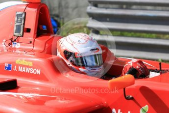 World © Octane Photographic Ltd. GP3 – Hungarian GP – Practice. Arden International - Joey Mawson. Hungaroring, Budapest, Hungary. Friday 27th July 2018.