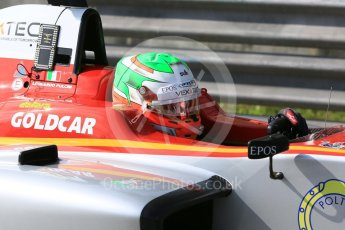 World © Octane Photographic Ltd. GP3 – Hungarian GP – Practice. Campos Racing – Leodardo Pulcini. Hungaroring, Budapest, Hungary. Friday 27th July 2018.