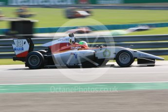 World © Octane Photographic Ltd. GP3 – Hungarian GP – Practice. Campos Racing – Leodardo Pulcini. Hungaroring, Budapest, Hungary. Friday 27th July 2018.