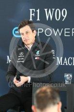 World © Octane Photographic Ltd. Formula 1 –. Mercedes AMG Petronas Motorsport AMG F1 W09 EQ Power+ launch, Toto Wolff (Team Principal and CEO) – Silverstone, UK. Thursday 22nd February 2018. Digital Ref : 2020CB1D7848