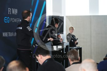 World © Octane Photographic Ltd. Formula 1 –. Mercedes AMG Petronas Motorsport AMG F1 W09 EQ Power+ launch, Toto Wolff (Team Principal and CEO) – Silverstone, UK. Thursday 22nd February 2018. Digital Ref : 2020CB1D7867