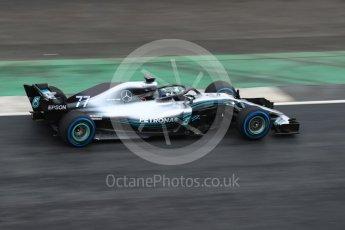 World © Octane Photographic Ltd. Formula 1 –. Mercedes AMG Petronas Motorsport AMG F1 W09 EQ Power+ launch – Silverstone, UK. Thursday 22nd February 2018. Digital Ref : 2020LB1D7968