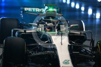 World © Octane Photographic Ltd. Formula 1 –. Mercedes AMG Petronas Motorsport AMG F1 W09 EQ Power+ launch, Valtteri Bottas – Silverstone, UK. Thursday 22nd February 2018. Digital Ref : 2020LB1D8051