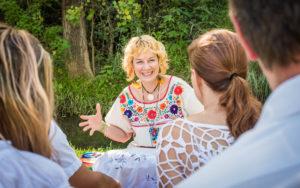 Octavia Teaching Spiritual Development classes