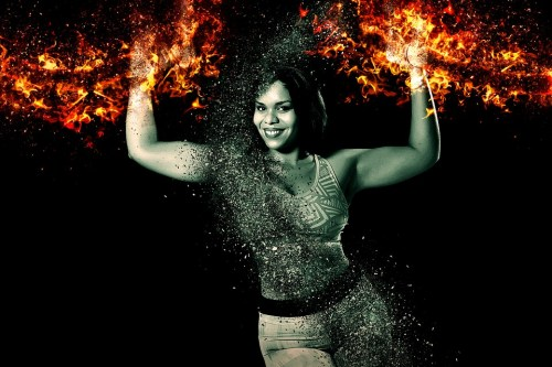 Powerful woman, woman on fire, reclaim your energy, Octavia brooks, fresh start in 2018, fresh new year