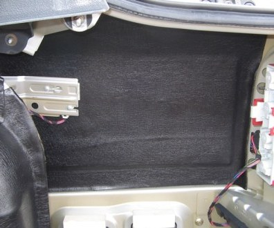 Tlumení kufru vibraflexem Škoda Octavia 14